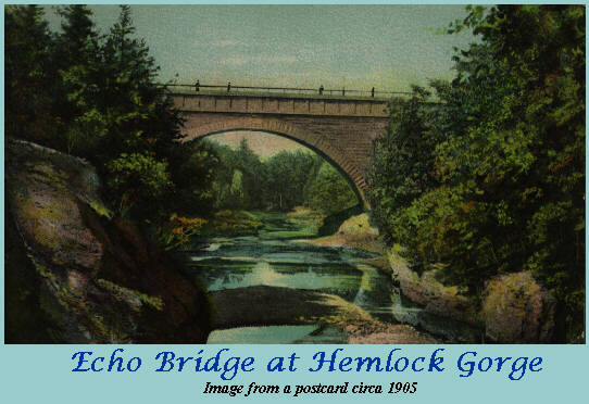 The Main Arch of Echo Bridge from Artist's Point