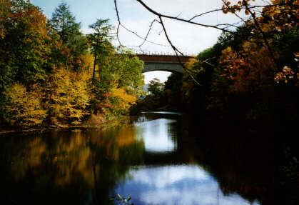 Echo Bridge, Fall 1997, (c) John Mordes