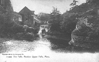 The Silk Mill Dam in 1905